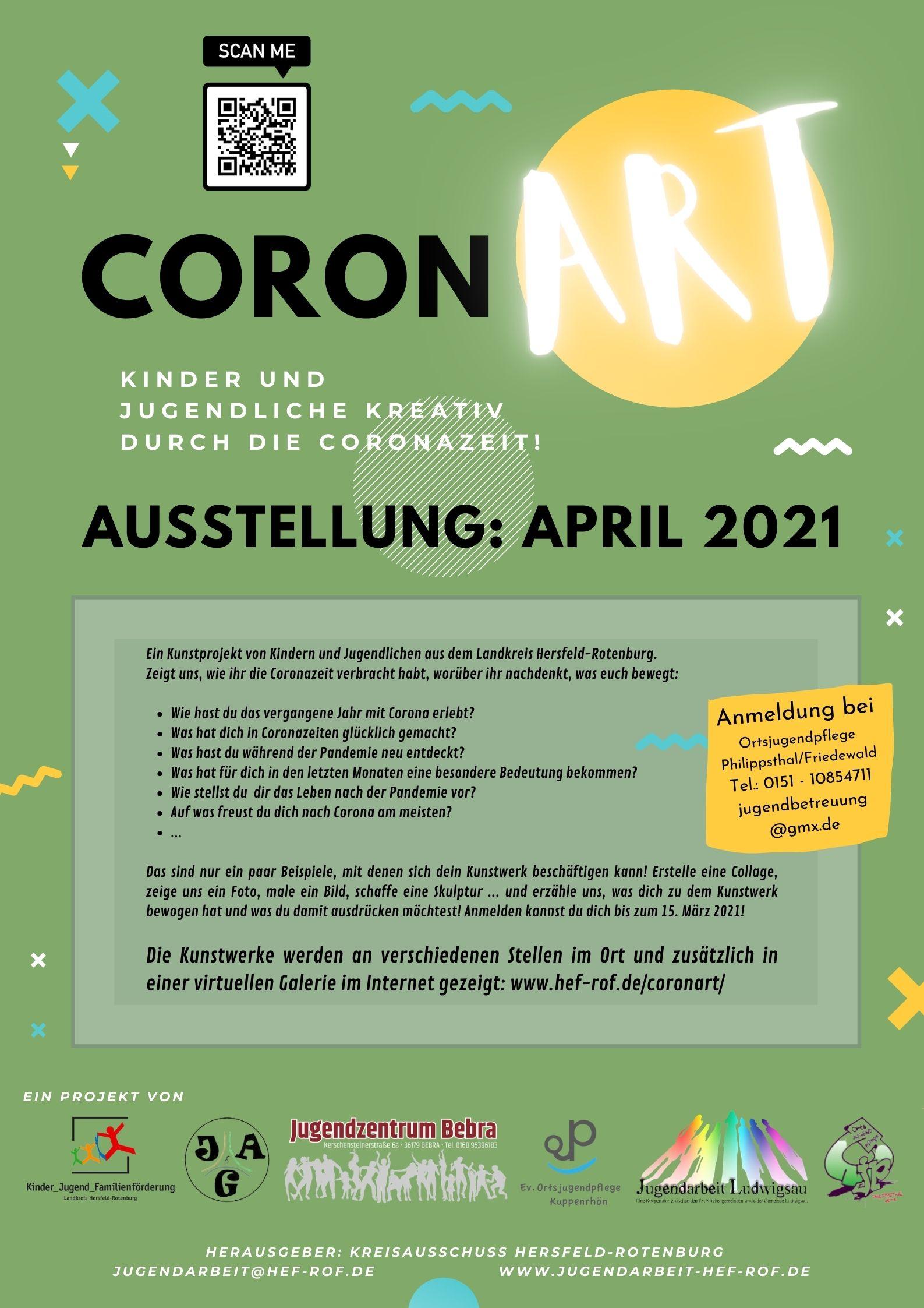 coronArt - Kunstrpojekt